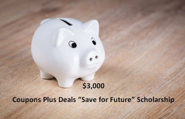 """Coupons Plus Deals """"Save for Future""""Scholarship"""