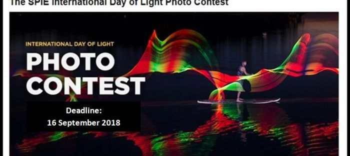 SPIE Annual International Day of Light (IDL) Photo Contest