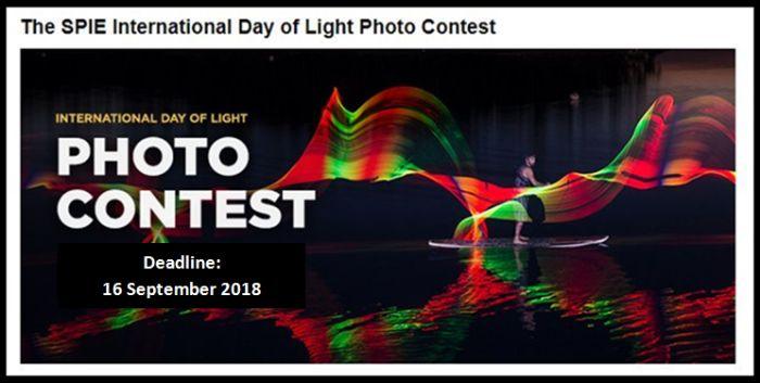 SPIE Annual International Day of Light (IDL) Photo Contest