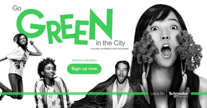 The Go Green in the City Challenge