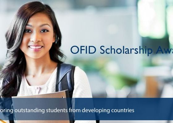 The OFID Scholarships for Students from Developing Countries