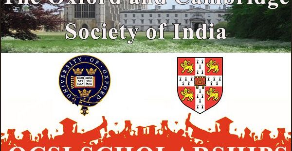 The Oxford and Cambridge Society of India Scholarships