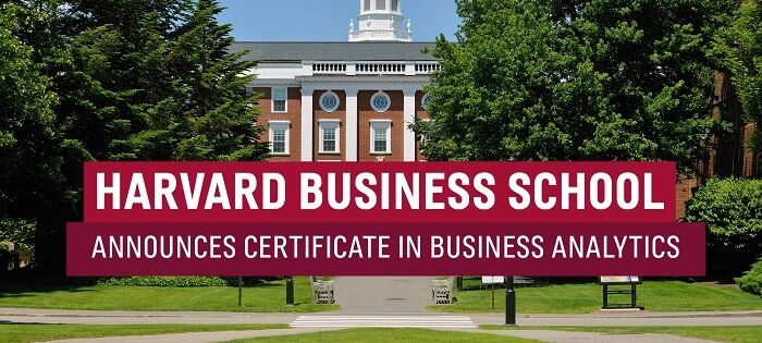 Business Analytics Certificate Courses Online by Harvard Business School