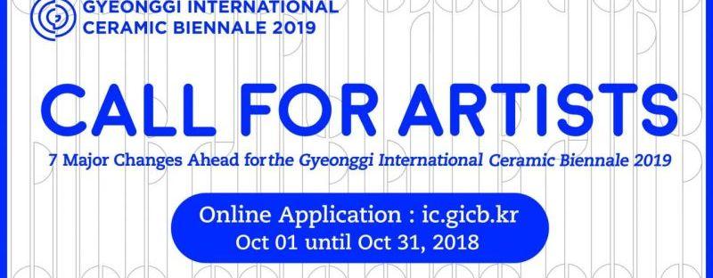 Gyeonggi International Ceramic Biennale (GICB) 2019