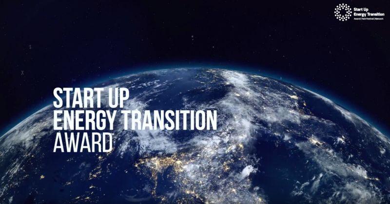 Start Up Energy Transition Award 2019