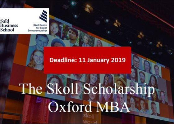 The Skoll Scholarship2019