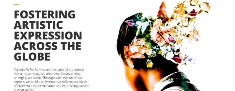 Passion To Perform International Art Contest