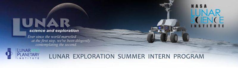 Exploration Science Summer Intern Program