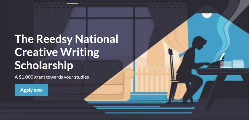 Reedsy National Creative Writing Scholarship