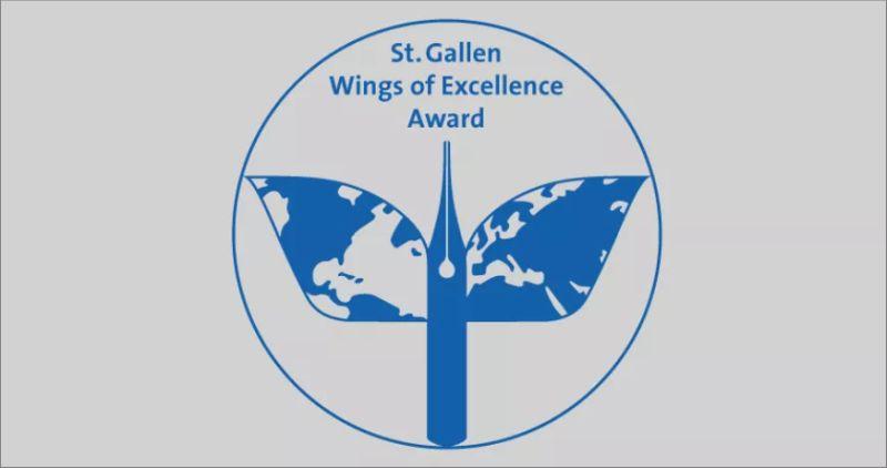 St.Gallen Wings of Excellence Award in Switzerland