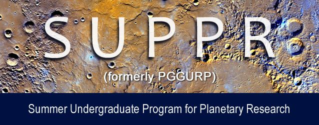 Summer Undergraduate Program for Planetary Research in USA