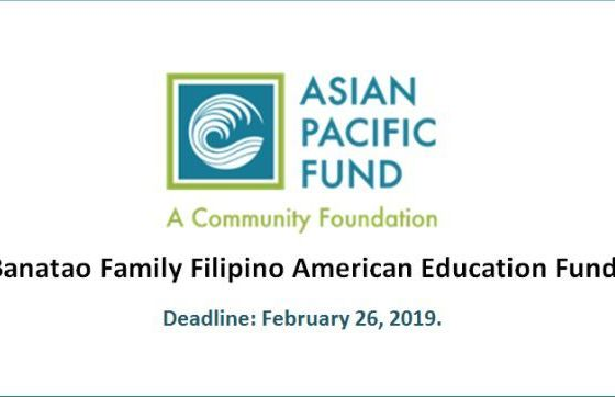 Banatao Family Filipino American Education Fund