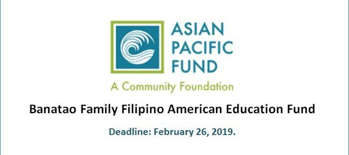 Banatao Family Filipino American Education Fund