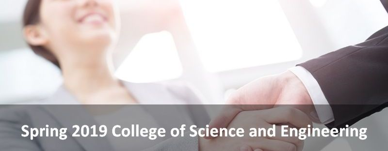 Spring 2019 College of Science and Engineering (CSE) Career Fair