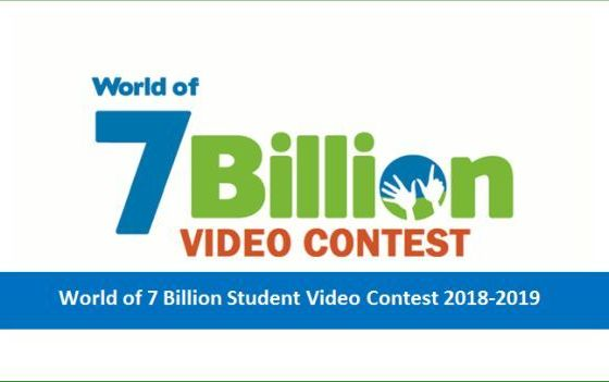 World of 7 Billion Student Video Contest for International Students