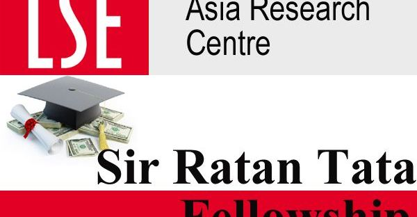 Sir Ratan Tata Post-doctoral Fellowship to Study in UK