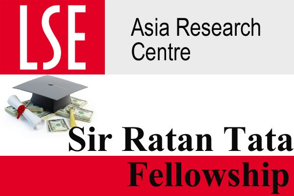 Sir Ratan Tata Post-doctoral Fellowship to Study inUK