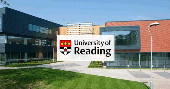 The University of Reading Offers GIIDAE International Scholarships in UK, 2019