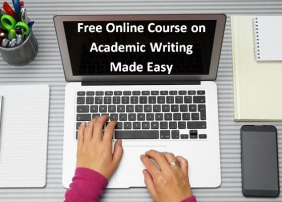 Free Online Course on Academic Writing Made Easy