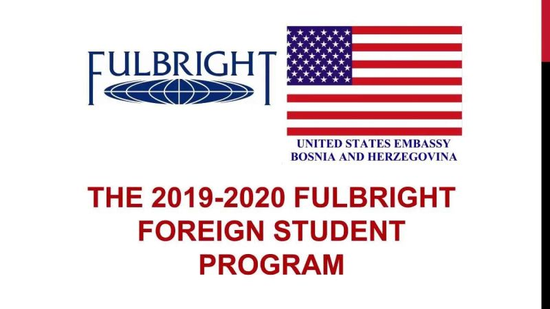 Fulbright Foreign Student Program in USA 2020-2021 ...