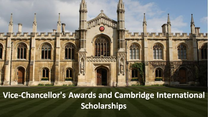 Vice-Chancellor's Awards & Cambridge International Scholarships
