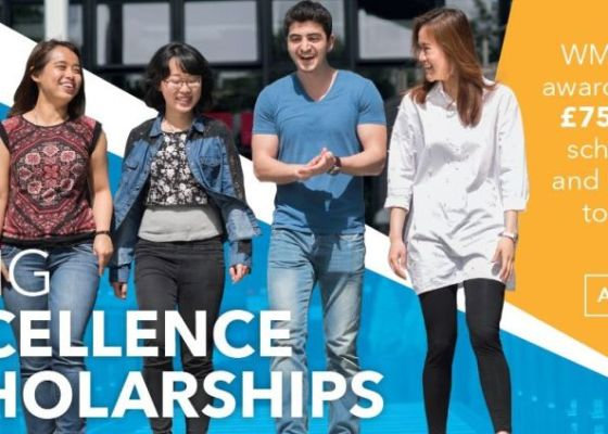 WMG Excellence Scholarships at University of Warwick, UK